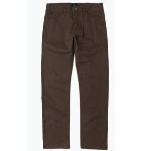 RVCA Stay RVCA Straight Fit Pants 32